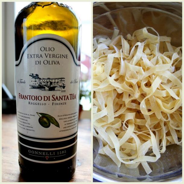 hjemmelaget pasta når du har god tid :-)