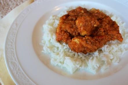 Indisk kyllingkarri