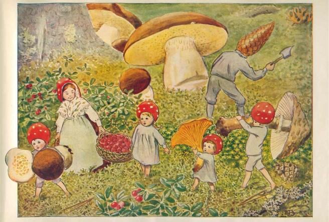 tomtebo-barnen-plockar-svamp